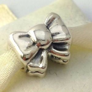PANDORA Perfect Gift Bow Bead Sterling CharM